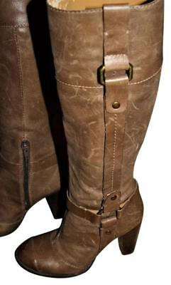 """Nine West Clara Knee High Boots 19"""" Soft Leather - 70s Inspired, 5.5, SRP$149"""