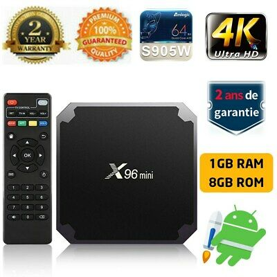 X96 Mini Lecteur multimédia Android7.1 boîte Smart TV box 4K Amlogic S905W 4Core