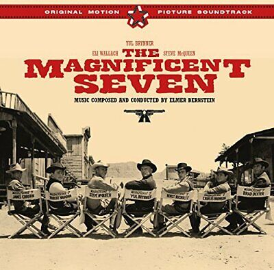Sountrack: Elmer Bernstein - The Magnificent Seven (1960) (Bonus Tracks) CD NEW