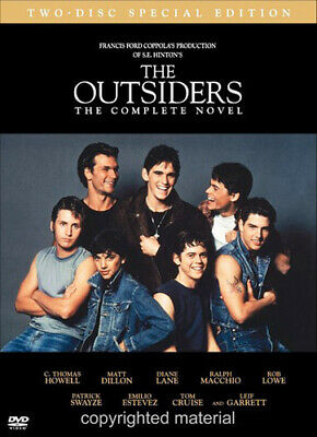 The Outsiders (1983): The Complete Novel (C Thomas Howell) (2 Disc) DVD NEW