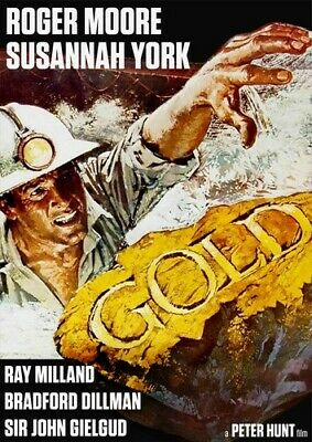 Gold (1974 Roger Moore) DVD NEW