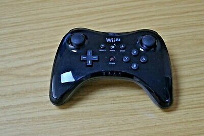 Official Genuine Wii U Pro Controller Wireless Gamepad Black for Nintendo Wii U