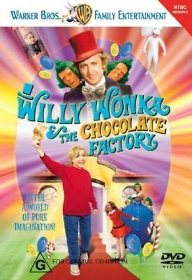Z2 BRAND NEW SEALED Willy Wonka And The Chocolate Factory (DVD, 2006)