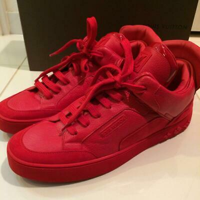 9bd6d655d Louis Vuitton Sneakers Red Men Kanye West Collab Don s 8.5 New Rare Casual  Shoes