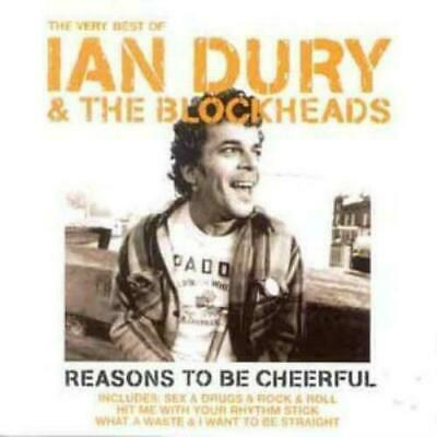 Ian Dury & The Blockheads Reasons To Be Cheerful Very Best CD Album New & Sealed