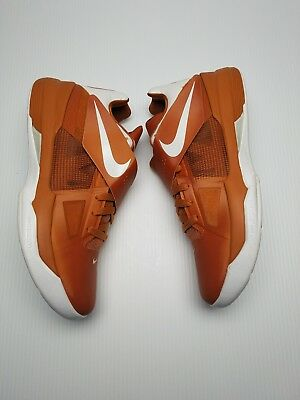 online store 4b867 4cc2d Nike Zoom KD IV Texas Longhorns Size 10.5 NEW Kevin Durant