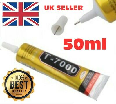 50ML Mobile Phone Glue Adhesive Industrial Strength T7000 Laptop  Craft Repair