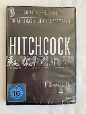Alfred Hitchcock - Die 39 Stufen - Collectors Edition - Dvd - Neu & Ovp