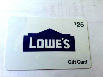LOWE'S Gift Card New No Value---0---ZERO BALANCE RECHARGEABLE