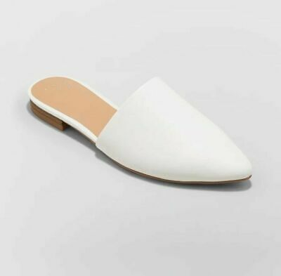 Women's Junebug Backless Mules - A New Day- White