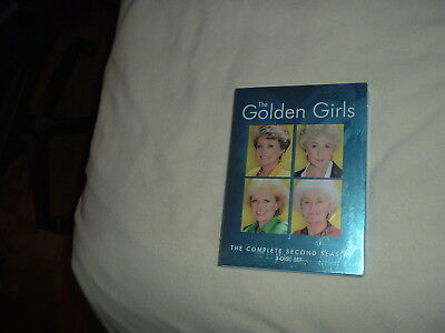 The Golden Girls Complete Second Season Two 2 DVD BRAND NEW SEALED