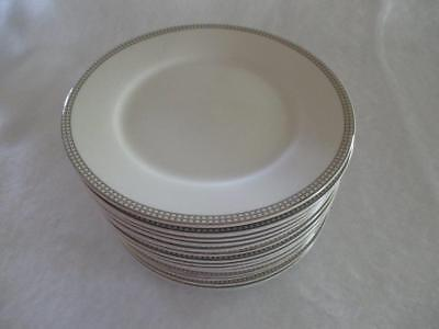 Compton Classic Dot Platinum Salad Plate Excellent Condition Multiple Available