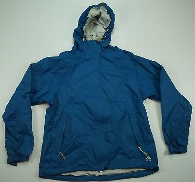67af2dcd12 Rare Vintage NIKE ACG Spell Out Outer Layer 3 Windbreaker Rain Jacket 90s  Blue L