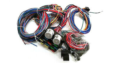 1937 1940 chevy business coupe 12 circuit wiring harness wire kit