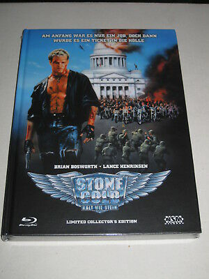 Stone Cold (1991) - Mediabook B - Blu-ray + DVD - New & Sealed & Limited