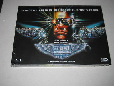 Stone Cold (1991) - Mediabook C - Blu-ray + DVD - New & Sealed & Limited
