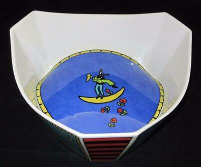 Rosenthal FLASH Dorothy Hafner Three Sided Triangular Serving Bowl, Kitti Kahane