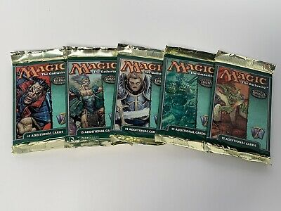 MTG Magic the Gathering 7th Seventh Edition Booster Pack x1 NEW /& Factory Sealed