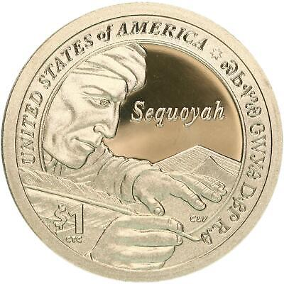 2017 S Native American Sacagawea Dollar Gem Deep Cameo Proof US Coin
