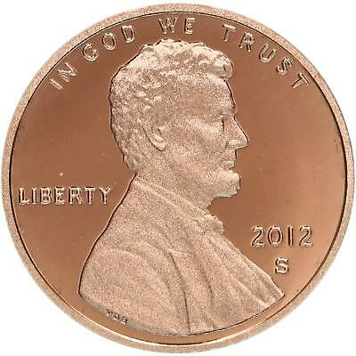 2012 S Lincoln Shield Cent Gem Deep Cameo Proof Penny