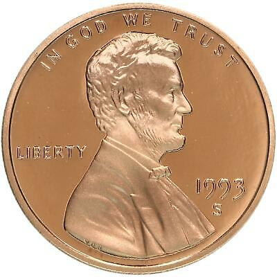1993 S Lincoln Memorial Cent Gem Deep Cameo Proof Penny
