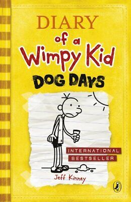 Dog Days (Diary of a Wimpy Kid book by Jeff Kinney New Paperback / softback Book