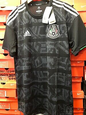 3a7c93eec ADIDAS MEXICO AUTHENTIC Black Soccer Jersey 2019 Size XL -  129.99 ...
