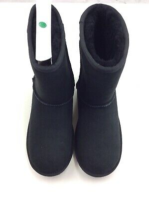 c1c4596f6ff UGG BIG KIDS Classic II Sheepskin Boot 1017703K Black Youth Size 5