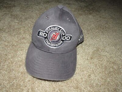New Jersey Devils 2000 Stanley Cup Champions Adjustable Hat Vintage New Era 7a2b312ce
