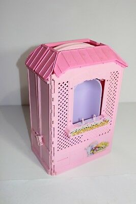 PARTS ONLY for Barbie Pink Fold Up House Bird Window Tub Faucet Locks READ