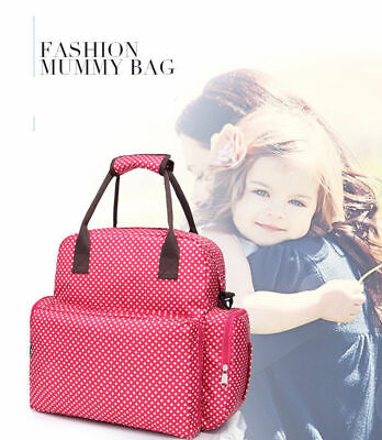 Mummy Baby Nappy Large Travel Capacity Backpack Maternity Changing Diaper Bag