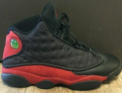 competitive price 2a430 49c73 Nike Air Jordan Retro 13 XIII Bred Mens Size 11.5 Black Red Authentic No box