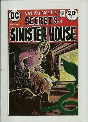 Secrets Of Sinister House #141973  Dc Comics  Bronze Age Horror Solid Gd/vg
