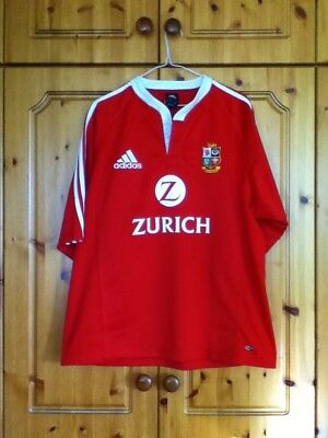 British and Irish Lions Rugby Union Home Jersey Large Adult New Zealand 2005