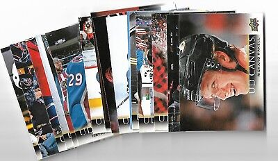 2018-19 Upperdeck Series 1 UD Canvas U PICK FROM LIST SP #1-90