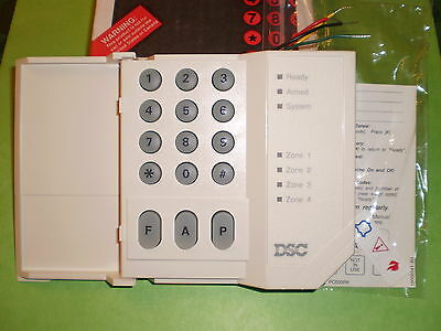 DSC PC500RK PC500 4 Zone Alarm Keypad Classic for PC510, PC550 PC560 NEW!