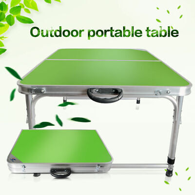 3 Ft Folding Table Partable Aluminum Indoor Outdoor Picnic Garden Camping Desk