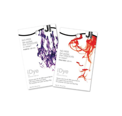 Jacquard iDye - 17 Colours Available - For Natural fabrics Cotton linen Silk