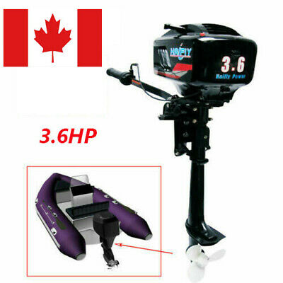 3.6HP 2Stroke Heavy Duty Outboard Motor 38CC Boat Engine Water Cooled System NEW