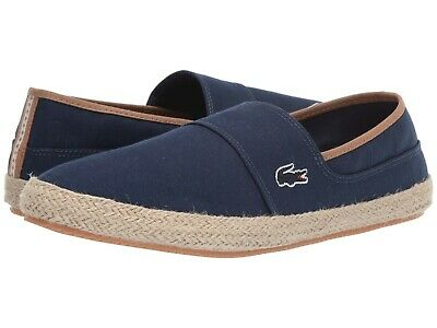 f5729551ed3d Lacoste Marice 119 Men s Croc Logo Casual Slip On Loafer shoes Sneakers Navy