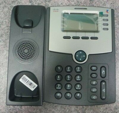 Cisco SPA504G-TLS 4-line Unified VoIP IP Phone PoE + Packaging