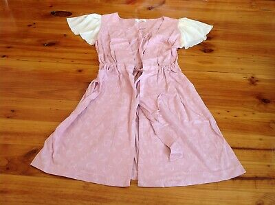 BNWOT Peter Alexander Pink Heart Gown Robe Size S Now on SALE!!