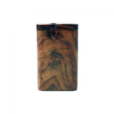 One Shot Dugout Pipe - Small (One Hitter Wooden Pipe)