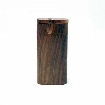 One Shot Dugout Pipe - Large Smoking Rig (One Hitter Wooden Smoking Pipe)