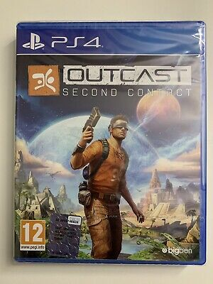 Versand sofort, Outcast: Second Contact (Sony PlayStation 4, 2017) NEU & OVP