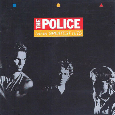 The Police ‎– Their Greatest Hits ! CD Album ! 1990 ! Rock