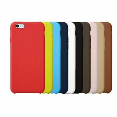 Original Genuine Apple PU Leather Case Cover Defender For Apple iPhone Lot ES