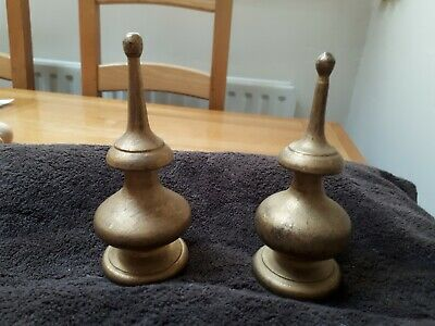 Clock case finials.