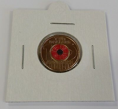 2018 Remembrance Day-Armistice Centenary $2 coin from Mint Bag UNC in holder