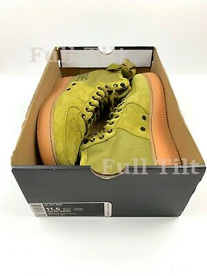 sports shoes 3a52b f7138 Nike Special Forces Air Force 1 Men s Mid Shoes Desert Moss 917753-301 Sz  11.5